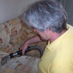 Upholstery Cleaning Rinsing