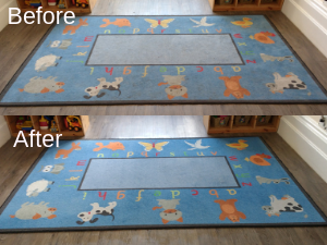 Rug Cleaning in Droitwich