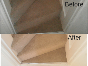 Stair Cleaning in Worcester