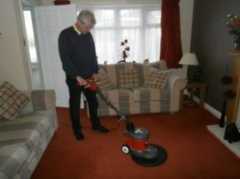 Carpet Cleaning Agitation