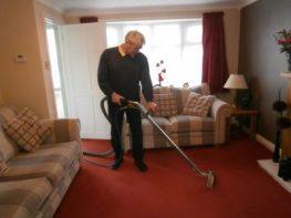 Carpet Cleaning Rinsing