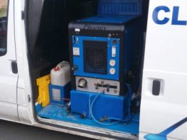 Cleaning Specialists Truck-Mounted Cleaning Machine