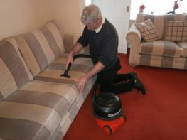 Upholstery Cleaning Vacuuming