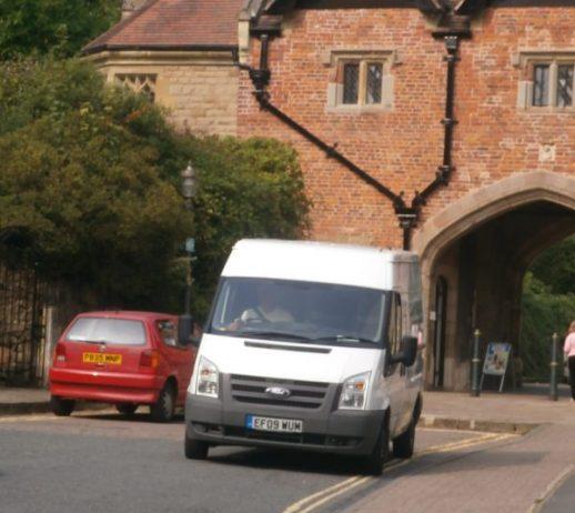 Cleaning Specialists Van in Malvern