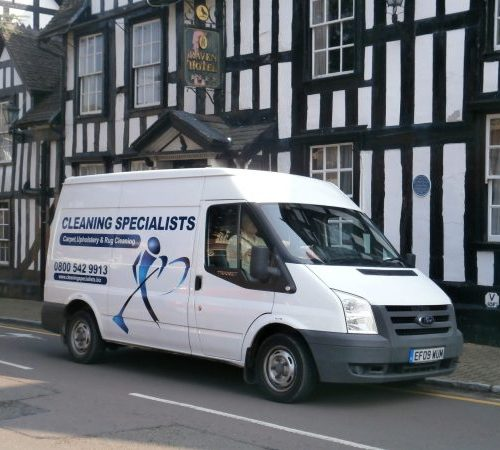 Cleaning Specialists Van in Droitwich